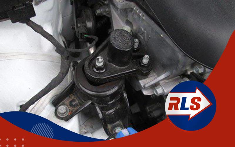 Síntoma de soporte del motor roto