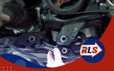 Como detectar los soportes del motor defectuosos
